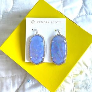 NWT Kendra Scott Lilac Illusion Danielle Earrings